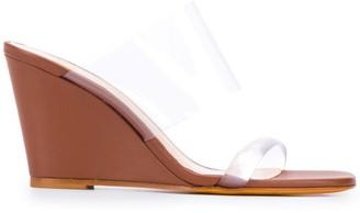 Maryam Nassir Zadeh Transparent Strap Sandals