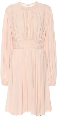 Giambattista Valli Lace-trimmed midi dress