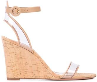 Aquazzura Minimalist wedge sandals