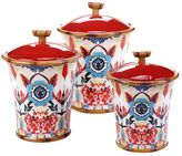 Tracy Porter Imperial Bengal 3-pc. Ceramic Canister Set
