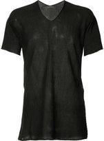 Label Under Construction longline T-shirt - men - Cotton - 48