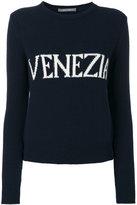 Alberta Ferretti Venezia intarsia jumper - women - Cashmere/Virgin Wool - 38