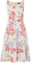 Max Mara Finish sleeveless floral shift dress