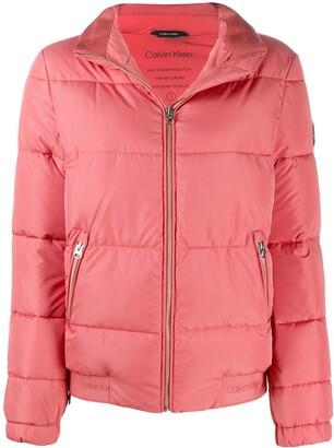 Calvin Klein Logo Patch Padded Jacket