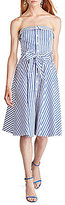 Polo Ralph Lauren Bengal-Striped Cotton Dress