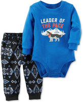 Carter's 2-Pc. Leader of The Pack Bodysuit & Pants Set, Baby Boys (0-24 months)