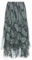 See by Chloe Paisley Printed Maxi Skirt