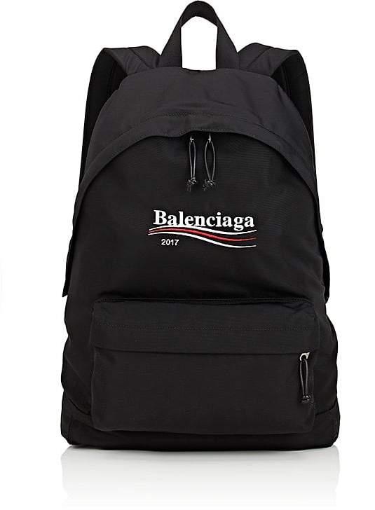 Balenciaga Men's Logo Backpack