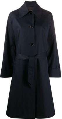 MM6 MAISON MARGIELA Single-Breasted Belted Coat