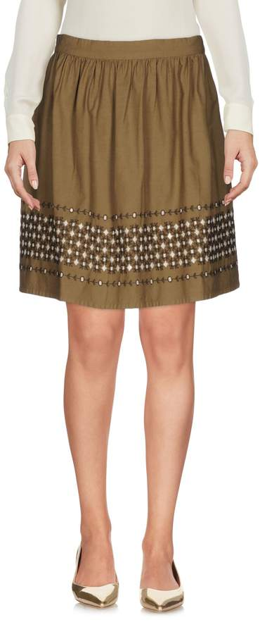 Vanessa Bruno ATHE' Knee length skirts - Item 35319283KQ