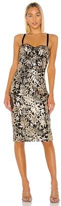 Bronx and Banco Louise Midi Dress