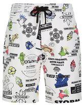Kenzo American Print Sweat Shorts