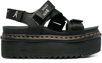 Dr. Martens Flatform-Sole Sandals