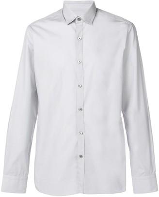 Lanvin cutaway collar shirt
