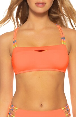 Soluna Rising Sun Corded Bandeau Bikini Top