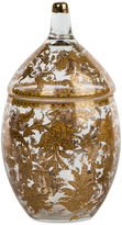 Bradburn Gallery Home 12 Fern Glass Jar, Gold