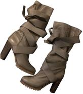 Chloé Boots grey heels