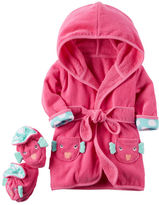 Carter's 2-Pack Hooded Fish Robe and Booties