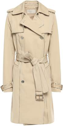 MICHAEL Michael Kors Double-breasted Cotton-blend Sateen Trench Coat