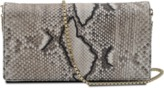 Roberto Cavalli python clutch