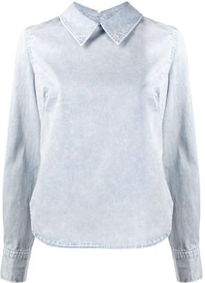 Rachel Comey Curved Hem Back Buttoned Shirt