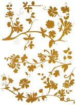 Freestyle 19 in. x 27 in. Frasca Wall Decal