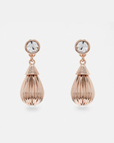 Ted Baker Mini plissé drop earrings