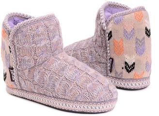 Muk Luks Women's Slippers Lavender/Pink - Lavender & Pink Leigh Slipper Boot - Women