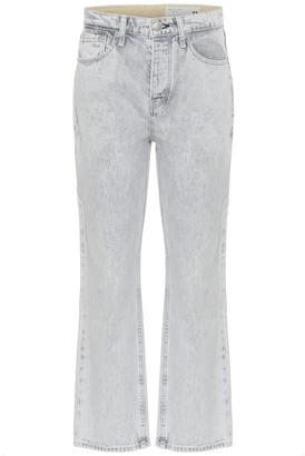 Rag & Bone Maya high-rise straight jeans
