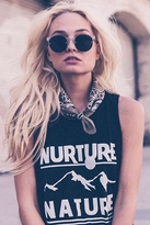 Sub Urban Riot Sub_Urban Riot Nature Muscle Tank in Black
