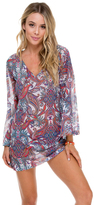 Luli Fama Rebeldia Boheme Tunic In Multi-Color (L523853)