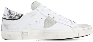 Philippe Model Prsx Veau Croco Sneakers