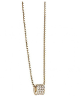 GUESS G Rounds Necklace Yellow Gold Plated