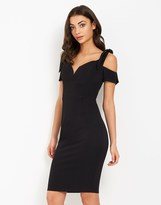 Rare Sweetheart Neckline Bardot Dress
