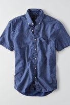 American Eagle Outfitters AE Tropical Print Short Sleeve Shirt