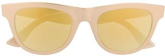 Bottega Veneta ribbon detail D-frame sunglasses