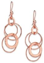 Ippolita Rose Glamazon Diamond Jet Set Drop Earrings