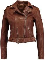 Gipsy WILD LAWOV Leather jacket cognac