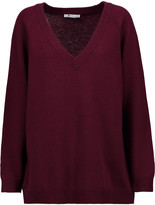 Alexander Wang Oversized wool and cashmere-blend sweater