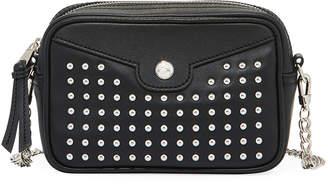 Longchamp Mademoiselle Studded Leather Crossbody Bag