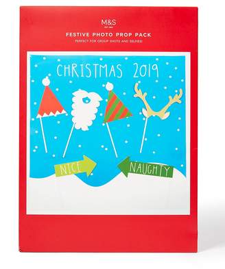 Marks and Spencer Novelty Christmas Photo Prop Pack