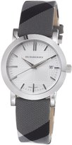 Burberry Women's BU1378 Nova Check Check Strap Dial Watch
