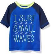 Old Navy Graphic Rashguard for Toddler Boys