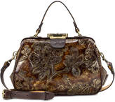 Patricia Nash Metallic Gracchi Small Frame Satchel, Created for Macy's