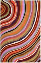Cornermill Waves Wool Rug, 160 x 230cm