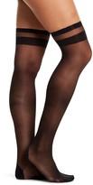 DKNY Stripe Tip Stockings