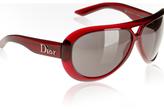 red wrap 'AviaDior' sunglasses