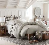 Pottery Barn Astoria Turned Leg Platform Bed
