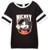 Jerry Leigh Mickey Mouse Black Tee - Juniors