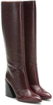 Chloé Wave leather boots